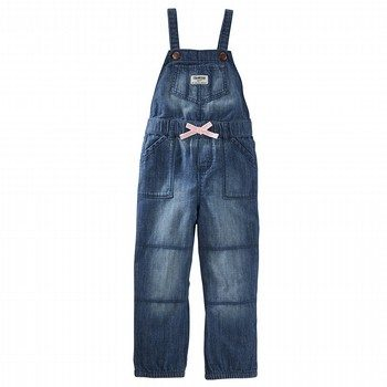OshKosh Denim Jogger Overalls - Stormy Blue