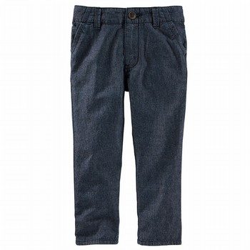 OshKosh Slim Slouch Chambray Chinos