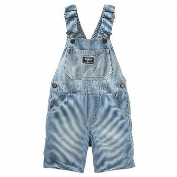 OshKosh Hickory Stripe Shortalls