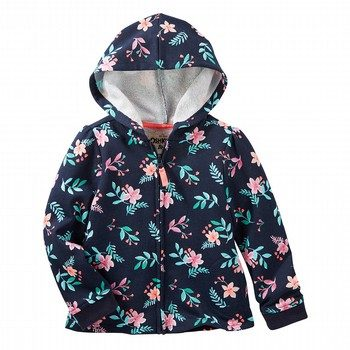 OshKosh Floral French Terry Hoodie