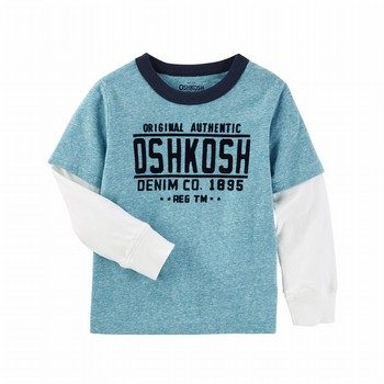 OshKosh Layered Look Logo Tee