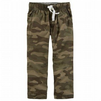 Carter's Camo Pull-On Pants