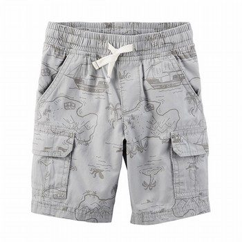 Carter's Easy Pull-On Poplin Shorts