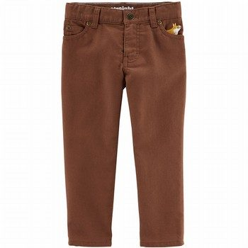 Carter's High Stretch Straight-Fit Pants