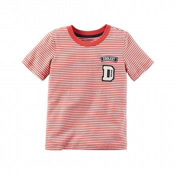 Carter's Stripe Patch S/S Shirt