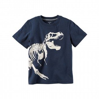 Glow-In-The-Dark Dinosaur Graphic Tee