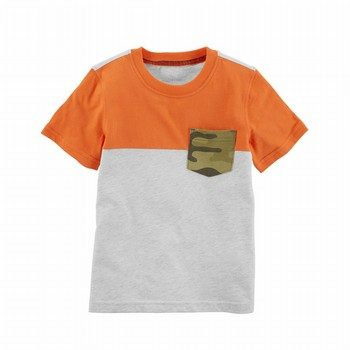 Carter's Colorblock Pocket Tee