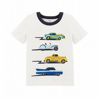 Carter's Cars Slub Textured Tee