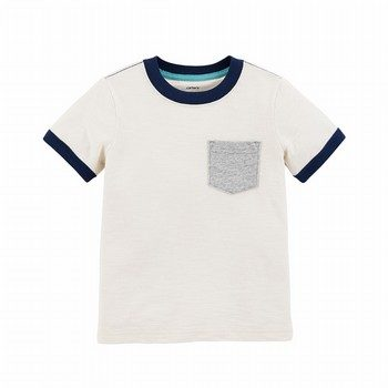 Carter's Pocket Slub Jersey Tee