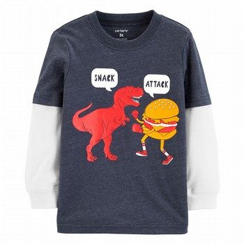 Carter's Snacks Layered-Look Tee