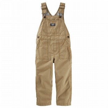 OshKosh Canvas Overalls - Golden Brown Wash
