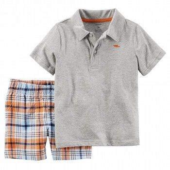 Carter's 2PC Polo & Short Set
