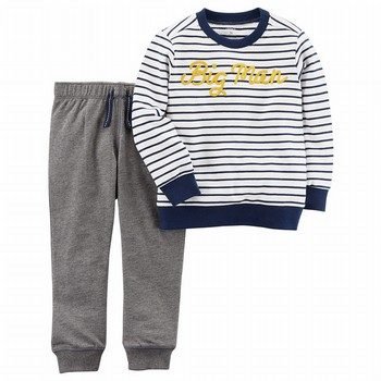 Carter's 2PC Big Man Pullover & Pant Set