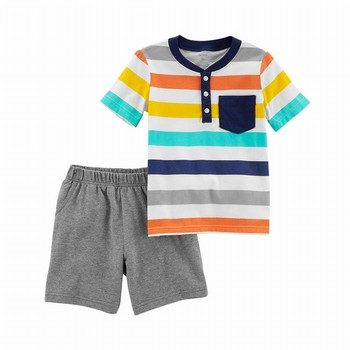 Carter's 2PC Jersey Top & French Terry Short Set