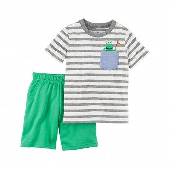 Carter's 2PC Jersey Tee & French Terry Short Set