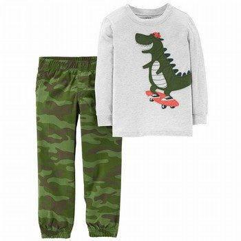 Carter's 2PC L/S Tee & Pant Set