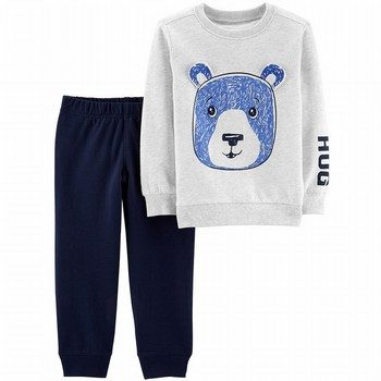 Carter's 2PC Bear Pullover & Jogger Set