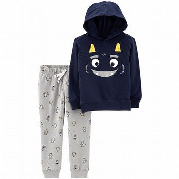 Carter's 2PC Monster Hoodie & Jogger Set