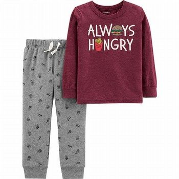 Carter's 2PC Snow Yarn Pullover & Jogger Set
