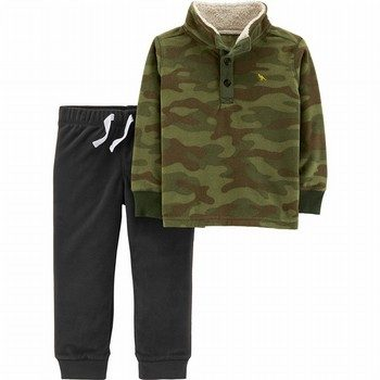 Carter's 2PC Microfleece Top & Jogger Set