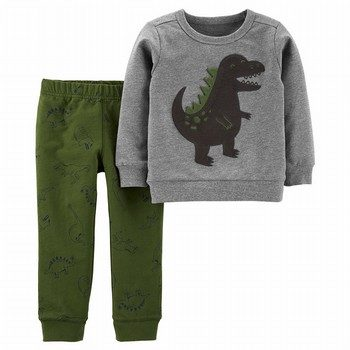 Carter's 2PC Dinosaur Pullover & Jogger Set