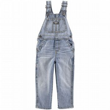 OshKosh Denim Overalls - Sunfaded Light Wash