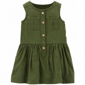 Carter's Sleeveless Sateen Dress