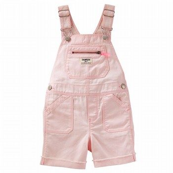OshKosh Denim Shortalls - Pastel Wash