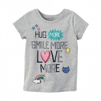 Carter's Love More Graphic Tee