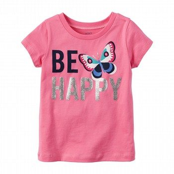 Carter's Be Happy Graphic Tee
