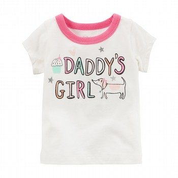 Carter's Daddy's Girl Graphic Tee