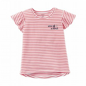 Carter's Striped Hi-Lo Tee