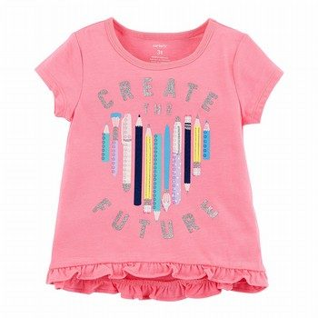 Carter's Create The Future Hi-Lo Matchtastic Tee