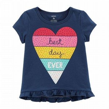 Carter's Best Day Ever Hi-Lo Matchtastic Tee