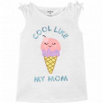 Carter's Ice Cream Tulip Back Slub Tank