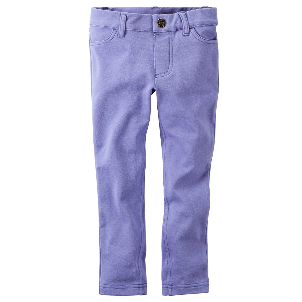 2eff87dee0e3c Carter's French Terry Jeggings - Baby Girl
