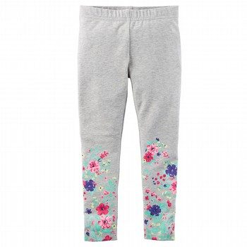 Carter's Heather Floral Leggings
