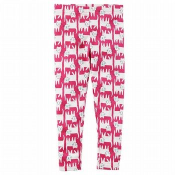 Carter's Cat Print Leggings