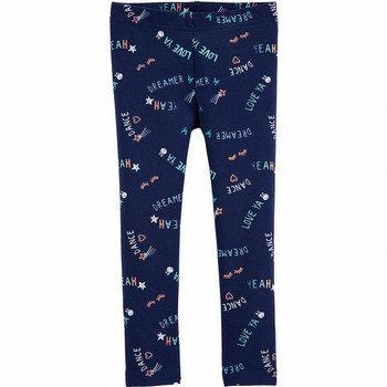 Carter's Slogan Leggings