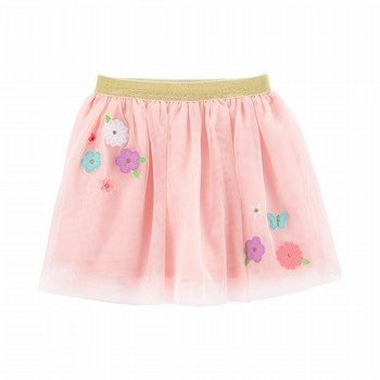 Carter's Flower Tulle Tutu Skirt
