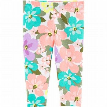 Carter's Floral Capri Leggings