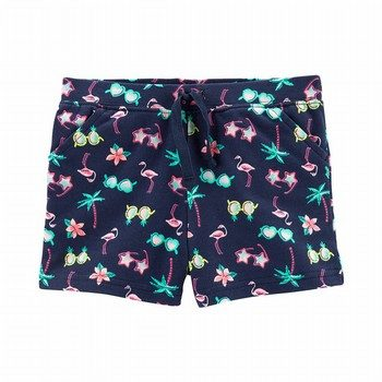 Carter's Tropical Pull-On French Terry Shorts