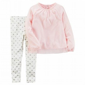 Carter's 2PC Top & Printed Leggings Set