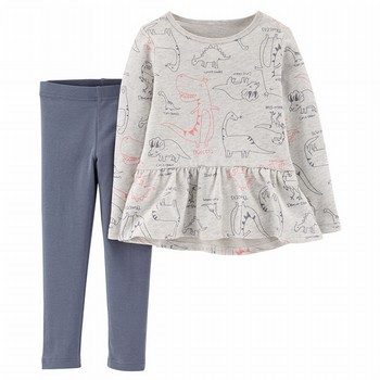 Carter's 2PC Ruffle Top & Legging Set