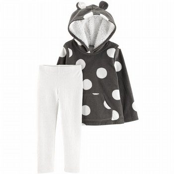 Carter's 2PC Fleece Hoodie & Legging Set