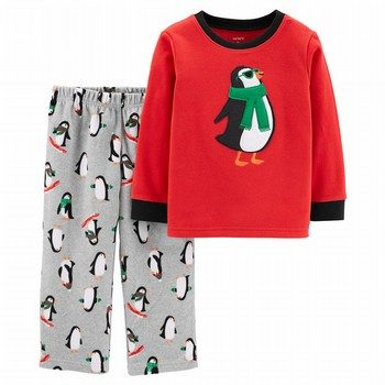 Carter's 2PC Penguin Fleece PJs