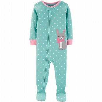 Carter's Snug Fit Cotton Onepiece Footed PJs