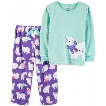 Carter's 2PC Polar Bear Fleece PJs