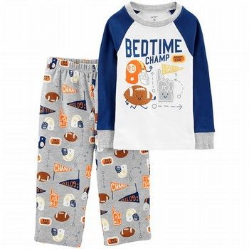 Carter's 2PC Snug Fit Cotton & Fleece PJs