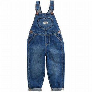OshKosh Heart Overalls - Gemma Wash